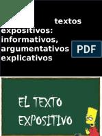 textos expositivos