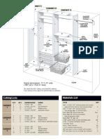 Figure a Cabinet Details