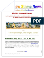 Rainbow Stamp News May 2017