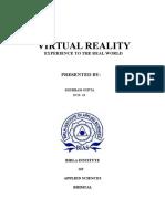 VR REPORT