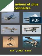 Memo Avions a Connaitre BIA CAEA Et - 2014-02-03
