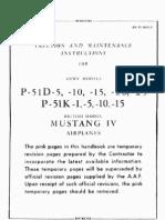 P51D - Mustang - Maintenance Manual