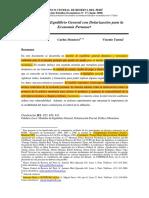 Modelo de Equilibri General Peruana