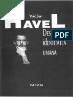 Văclav Havel - Despre identitatea umană.pdf