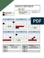 2017 - Cronograma Ssms-40 - Junio 2016-1