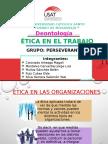 Ética Del Trabajo en Las Organizaciones
