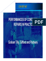 Performances of Concrete Repairs in Practice