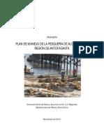 Plan de Manejo de La Pesquería de Algas Pardas