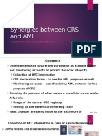 Synergies Between CRS and AML