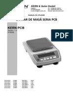 Cantar De_masa Kern Seria PCB