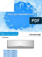 Midea Split Fairwind Series