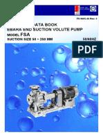 Pump Ebara Catalogue EBARA FSA