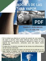Condensadores de Las Plantas a Vapor1