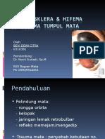 Case Ruptur Sklera & Hifema