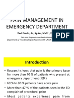 Pain Management in ED