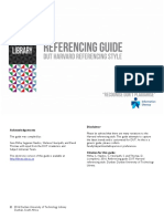 Referencing Guide DUT Harvard Referencing Style 2016