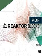 3279 REAKTOR Blocks Manual English