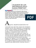 FUERON ALGUNOS DE LOS DONES MINISTERIALES SÓLO PARA LA IGLESIA PRIMITIVA.docx