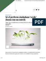 Sé el perfecto ciudadano 'verde' (basta con un móvil) | Economía | EL PAÍS