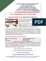 ASE Categorie a Nouveau Statut Et Nouvelles Grilles Indiciaires 1 Fevrier 2018