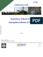 World Bank - Feeder Segregation Not Best Option for Rural Electricification - 2013