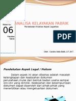 Materi 6 AKP Aspek Legal
