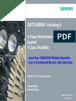 2011 10 10 Siemens Presentation (SGT5 8000H)