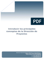 Introducir Los Principales Conceptos DP