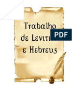HEBREUS - Conteúdo do livro e seus destinatários