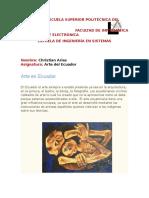La cultura en el Ecuador