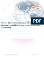 Global Agricultural Enzymes Market (2016-2023)- Research Nester