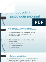 1.Introduccion a La Psicologia Anormal