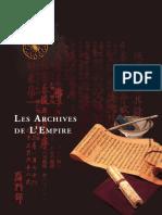Les Archives de l Empire