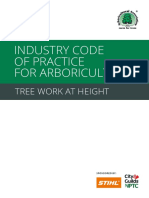 Industry Code of Practicefor Arboriculture - Tree Work at Height