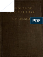 A Manual of Petrology