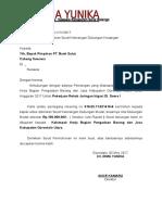 Dukungan Bank Cv. Irma Yunika