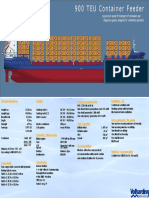 12385058822009-03-31 900 TEU Container Vessel