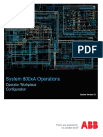 3BSE030322-510 D en System 800xA Operations 5.1 Operator Workplace Configuration