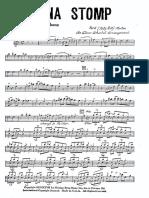 Morton - Hyena Stomp-'27 - arrangement for small band (3 brasses, 3 saxes , rhythm section)
