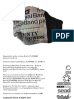 Royal Bank of Scotland Cashing in on Coal