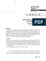 Artículo Andrés Roig y El Legado de La Filosofía Auroral