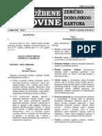 Zakon o Prost Uredjenju i Gradjenju Broj 1 2014