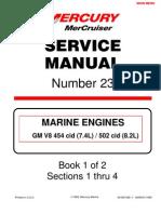 mercruiser 4 cyl 3 0 service manual gasoline internal combustion rh scribd com Mercury Mark 10 Outboard Motor Mercury Mark 58