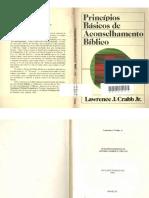 Princípios Básicos de Aconselhamento Bíblico - Lawrence J. Crabb. Jr.