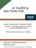 Standar Auditing Dan Kode Etik