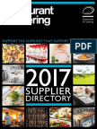 Restaurant Catering Suppliers Guide 2017