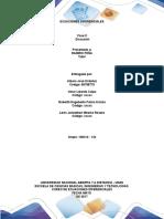 Fase 3 Diseño y Construcción, El Desarrollo de Los Ejercicio de Forma Individual
