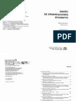 Diseño de Organizaciones