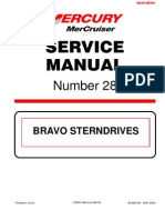 Merc Service Manual 28 Bravo Stern Drives