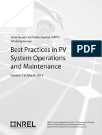 Bests Practices in PV System Operations and MaintenanceANOTADO